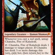 MTG Chandra, Fire of Kaladesh - Cartonas de colectie
