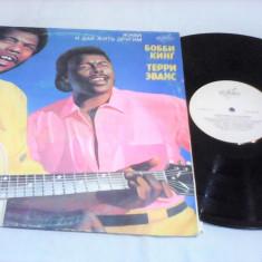 DISC VINIL LP ALBUM BOBBY KING & TERRY EVANS RARITATE!!!1991 STARE EXCELENTA
