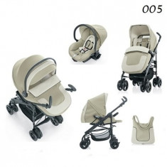 Carucior Millestrade Esprit sistem 3 in 1 -751E - Carucior copii 3 in 1 Brevi