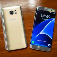 Telefon mobil - SAMSUNG GALAXY S7 EDGE - Telefon Samsung, Auriu, 32GB, Neblocat, Single SIM
