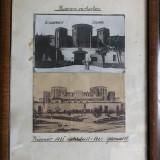 Nr. 413 Carte postala Inchisoarea din Chisinau 2 buc inramate. - Fotografie, Alb-Negru, Europa