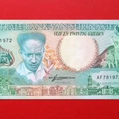 SURINAME - 25 Gulden 1988 - UNC - bancnota america