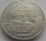 Moneda 25 Bani - RS ROMANIA, anul 1982 *cod 3697 detalii clare Allu