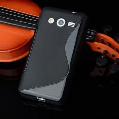 Husa Samsung Galaxy J5 J510 2016 TPU S-LINE Black - Husa Telefon Samsung, Negru, Gel TPU, Fara snur, Carcasa