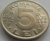 Moneda 5 Lei - ROMANIA, anul 1992 *cod 3701  = UNC