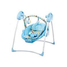 Leagan Electric Sw108007 Blue - Balansoar interior Baby Mix