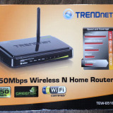 TRENDnet 150Mbps Wireless N Home Router, 4