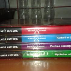 Colectia completa Florin Piersic Adevarul (4 DVD + cutie colectie) - Film Colectie productii romanesti, Romana