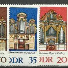 DDR 1976 - orga, serie neuzata