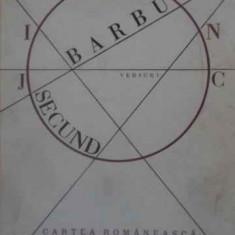 Joc Secund Editie Bibliofila - Ion Barbu, 389786 - Carte poezie