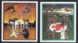 Mali  1996  fauna  aniversari   MI 1664-1687  6 kleib.  ( 3 poze )   MNH  w40, Nestampilat