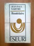 I JEAN-PAUL SARTRE - BAUDELAIRE