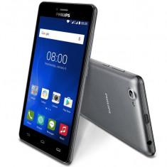 Vand tel.Philips S326 NOU garantie. - Telefon mobil Dual SIM Philips, Argintiu, 8GB, Neblocat, Quad core, 1 GB