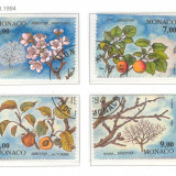 MONACO STAMPILAT Anotimpurile 1994, Natura