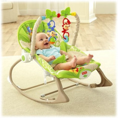 Balansoar 2 In 1 Infant To Toddler Rainforest Friends Fisher-Price - Balansoar interior
