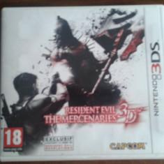 Resident Evil : The Mercenaries Nintendo 3DS.