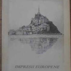 Impresii Europene (cu Dedicatia Autorului) - Valentin Ciuca, 389792 - Album Arta
