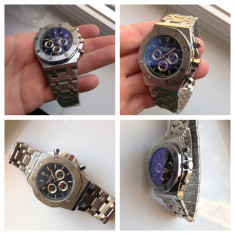 Ceasuri Audemars Piguet Royal Oak Off Shore, cadrane functionale, A+++++ - Ceas barbatesc Audemars Piguet, Mecanic-Manual
