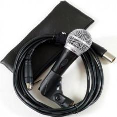 Microfon profesional SHURE PG58 cu cablu inclus
