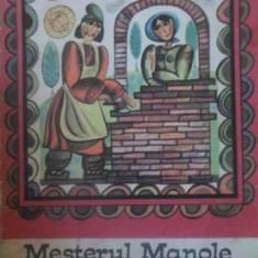 Mesterul Manole - Ilustratii Boboia Emilia, 389646 - Carte Basme