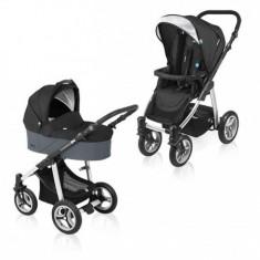Cărucior Multifuncţional Lupo 10 black 2016 - Carucior copii 2 in 1 Baby Design