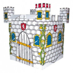 Coloreaza-Ti Castelul - Jocuri arta si creatie Bino