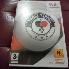 Table Tennis, pentru Wii, original, PAL, alte sute de jocuri - Jocuri WII Sega, Sporturi, 3+, Multiplayer