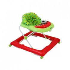 Premergator Baby Mix Copii Cu Roti Din Silicon Bg-1601 Red Green, 0-6 luni, Verde