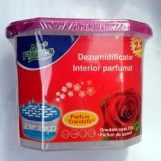 Dezumidificator, absorbant de umiditate 2 in 1 Air Flower trandafir