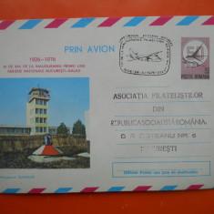 HOPCT PLIC 1471 AEROPORTUL SUCEAVA -1926-1976 LINIA AERIANA BUCURESTI-GALATI