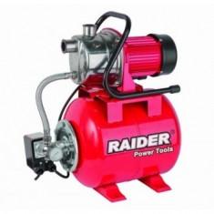 Hidrofor inox cu rezervor presiune 1200 W Raider RD-WP1200