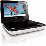 DVD player portabil Philips PD7030/12, LCD de 18 cm / 7, USB, durată de redare de 3 ore