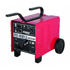 Aparat de sudura 60 - 200 A, 11, 2 kVA, 2 - 4 mm Raider RD-WM13 Raider Power Tools