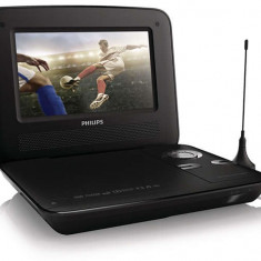 Dvd player portabil Philips PD7015/12, LCD de 18 cm / 7