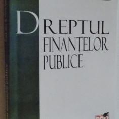 DREPTUL FINANTELOR PUBLICE, 2008