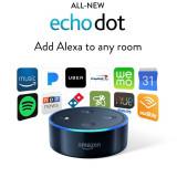Amazon Echo Dot 2, negru - Functioneaza in Ro | Orice produs la comanda din SUA