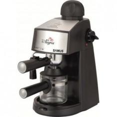 Espressor cafea Samus Alegria, Negru, 3.5 bar, 800 W, Automat