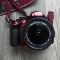 Aparat foto DSLR Nikon D3200, 24.2MP, Black + Obiectiv 18-55mm VR - Aparat Foto Nikon D3200, Kit (cu obiectiv)