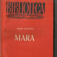 [BPT] MARA - IOAN SLAVICI - Carte poezie