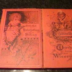 Carti vechi 1895 / 1899- in germana, caractere gotice - Carte veche