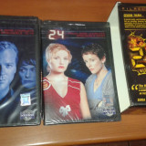 SERIAL 24 Seria 1 12 DVD sigilate + cutie colectie