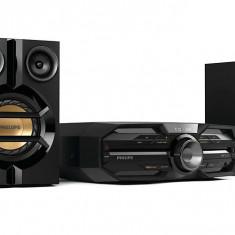 Minisistem Hi-Fi Philips FX15/12, Bluetooth şi NFC, Max. 180 W, Amplificator dual - Minisistem audio