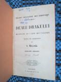 DEALU DRAKULUI - Eugene SUE (1853 - CHIRILICA - STARE FOARTE BUNA!!!), Eugene Sue