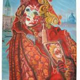 """Tablou - pictura in ulei - reproducere """"Memories of Venice"""" - Alex Levin"""