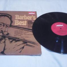 DISC VINIL CHRIS BARBER'S JAZZBAND BARBER'S BEST 1973 RAR!!!STARE EXCELENTA - Muzica Jazz