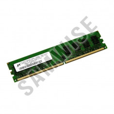 Memorie RAM 1GB MT DDR2 800MHz PC2-6400U calculator desktop GARANTIE 24 LUNI !!!