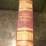 Johannes Scher - Literatura universala ilustrata - in germana , caractere gotice, Alta editura