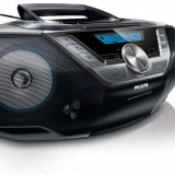 Radio cu CD Philips AZ780/12, MP3-CD, WMA-CD, 2 x 1 W RMS - Combina audio