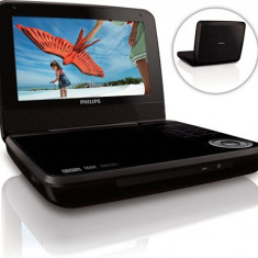 DVD player portabil Philips PD7001B/12, LCD de 18 cm / 7
