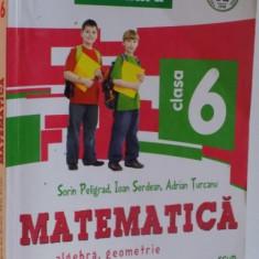 MATEMATICA , ALGEBRA , GEOMETRIE , CLASA A VI A , 2015